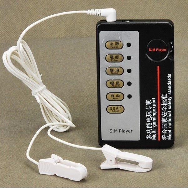 BDSM (БДСМ) - Электрические зажимы для сосков