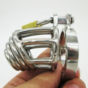 Stainless Steel Master Series Chastity Cage