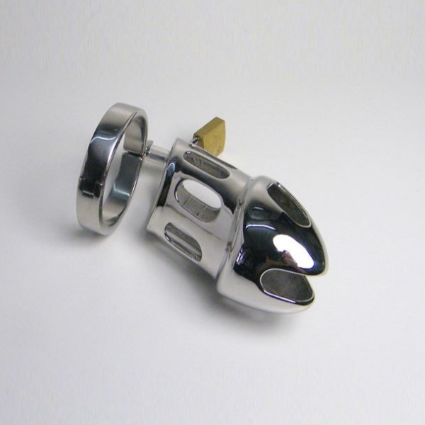 BDSM (БДСМ) - <? print Stainless Steel Master Series Chastity Cage Design of multiple air vents; ?>