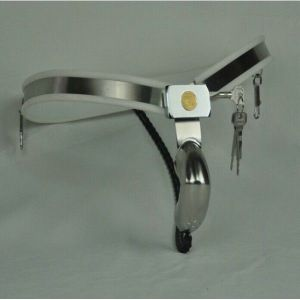 Male chastity belt stainless steel