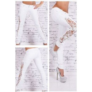Женские штаны белого цвета - Штаны, брюки