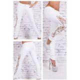 РАСПРОДАЖА! Женские штаны белого цвета по оптовой цене