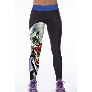 Леггинсы с 3D принтом Клоун - Спортивная одежда