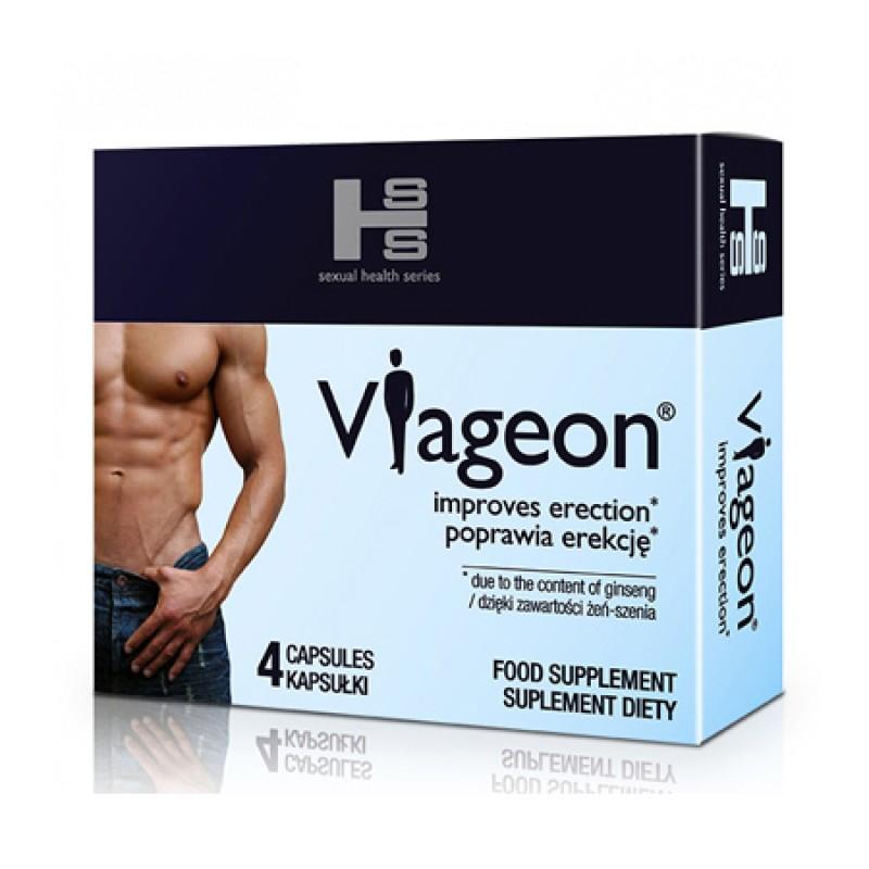 The drug VIAGEON potency erection SEX 4 TAB