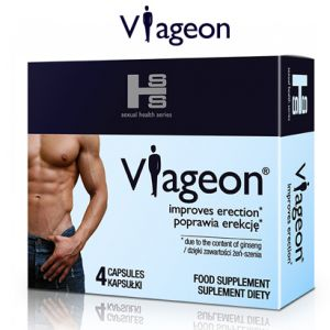 The drug VIAGEON potency erection SEX 4 TAB