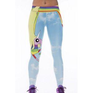 Леггинсы с милым 3D принтом Небо - Спортивная одежда