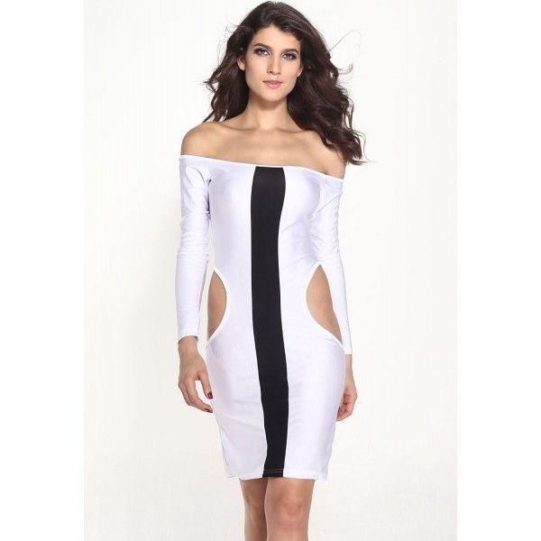 Sexy Symmetrical Slim Fit Midi Dress