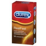 The Durex condoms Real Feel, 12 PCs