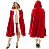 Sexy Women's Red Christmas manteau Mrs Costume Xmas Party