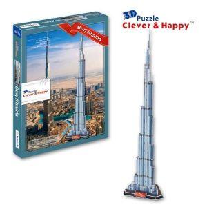 РАСПРОДАЖА! 3D Пазл Burj Khalifa оригинальный