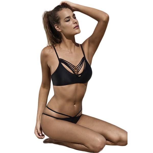 Sexy black bikini. Артикул: IXI46879