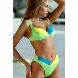 Calypso Color Block Bikini