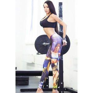 Sport leggings print leva