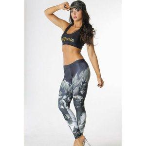 Stylish leggings with print of Batman