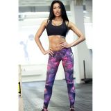 Leggings print women warrior yoga