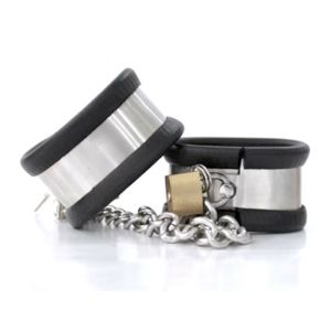 Handcuff mens stainless steel