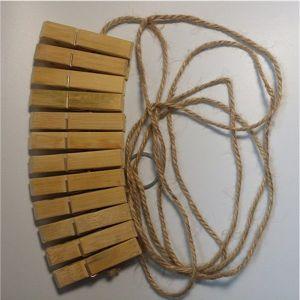 Nipple clamps with a rope. Артикул: IXI47517