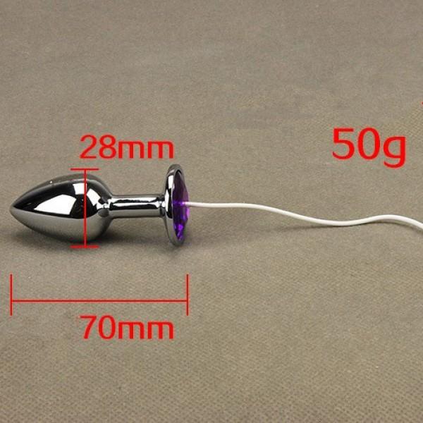 BDSM (БДСМ) - <? print Электро-секс сочетание небольших анус пробка + средний анальную пробку; ?>