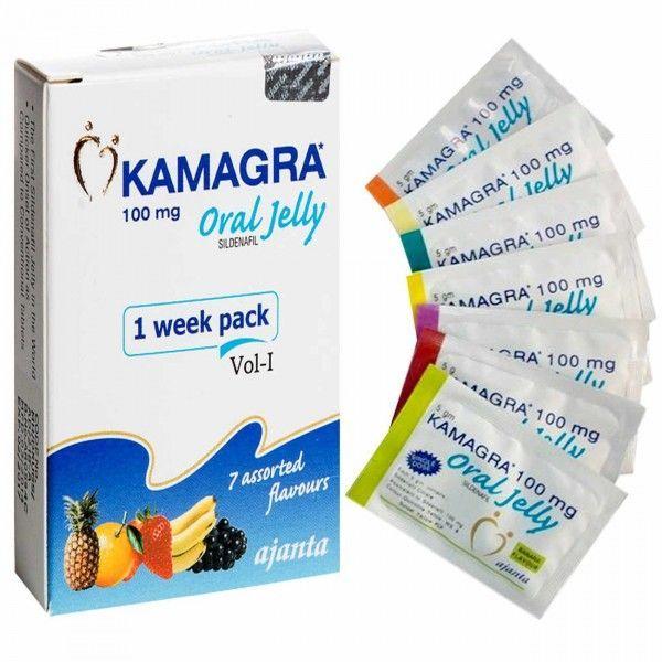 Гель для мужчин Kamagra Oral Jelly, 7 упаковок