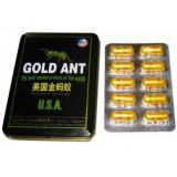Drug Gold Ant / ANT GOLD, 10pcs. capsules for potency