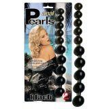 Black anal beads
