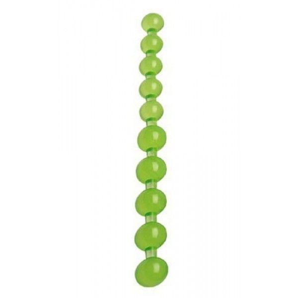 Анальные зеленые бусинки