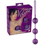 The Velvet balls purple