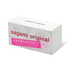Полиуретановые презервативы Sagami Original 0.02мм, 20 шт