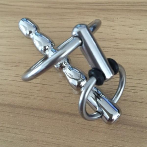 Catheter male penis stainless medical steel. Артикул: IXI48248