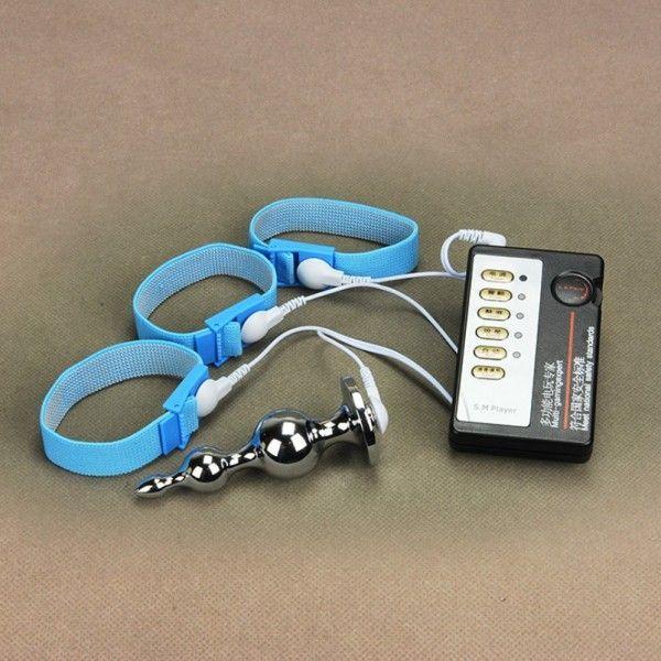 Electro-sex Анальная пробка +3 кольца для пениса М