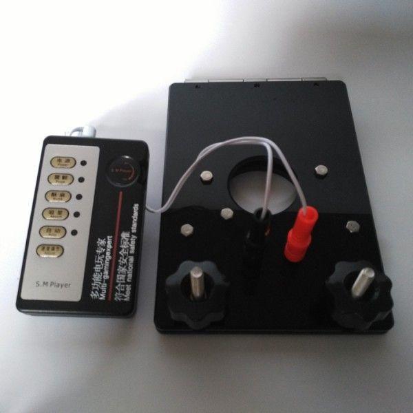 BDSM (БДСМ) - Электро-пресс для мошонки с отверстием для члена