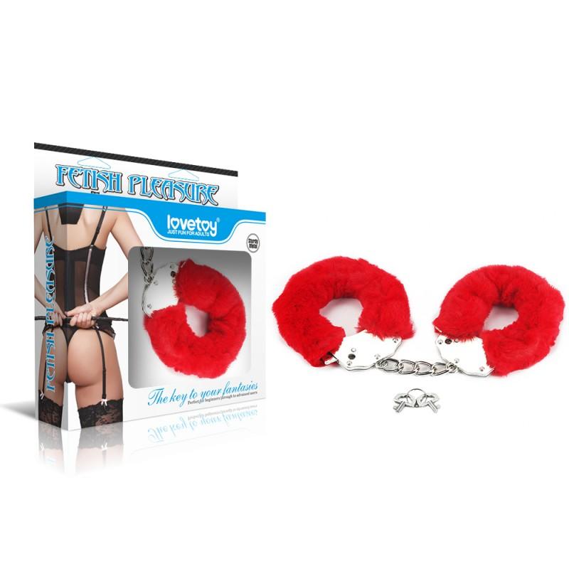 BDSM (БДСМ) - Пушистые наручники для удоволствия
