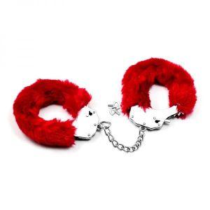 Fluffy handcuffs for Udovolstviya