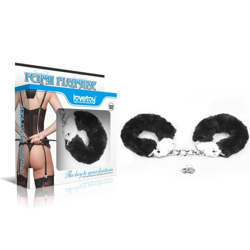 Наручники черные Love Cuffs