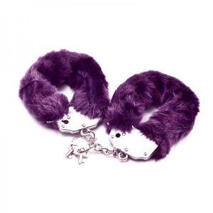 Handcuffs purple