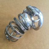 Stainless Steel Male Super Small Chastity Device