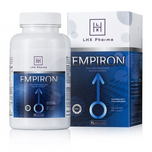 LHX Возбуждающие таблетки для мужчин Empiron 60шт
