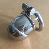 Stainless Steel Male Small Chastity Device / Stainless Steel Chastity Cage