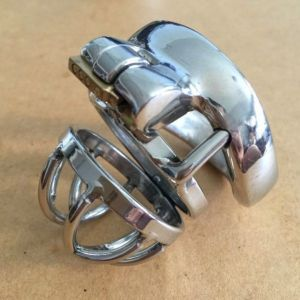 Male chastity of durable metal