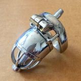 БДСМ - Stainless Steel Male Chastity Device / Stainless Steel Chastity Cage