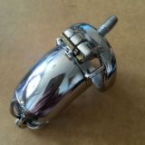 Stainless Steel Male Chastity Device / Stainless Steel Chastity Cage -