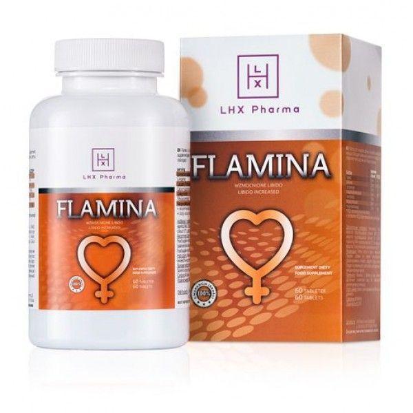LHX Возбуждающие таблетки для женщин Flamina 60шт