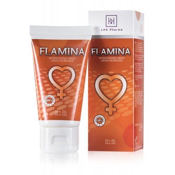 LHX Возбуждающий гель для женщин Flamina 50мл