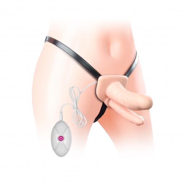 Страпон Vibrating Unisex hollow Double Penetrator. Артикул: IXI48520