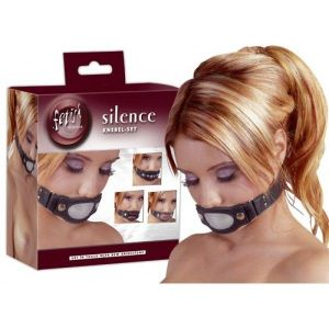Gag with 4 removable plugs for the mouth Mundknebel. Артикул: IXI48626