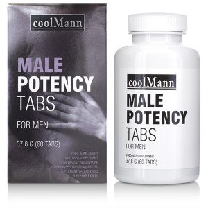 Pills for potency COOLMANN MALE POTENCY TABS 60 TABS