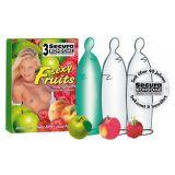 Цветные презервативы с ароматами фруктов SECURA SEXY FRUITS 3