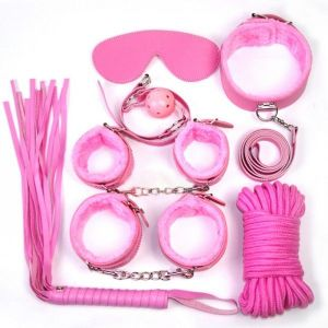 Intimate toy PU LEAThER fetish set