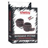 BDSM (БДСМ) - Универсальные кожаные наручники из кожи