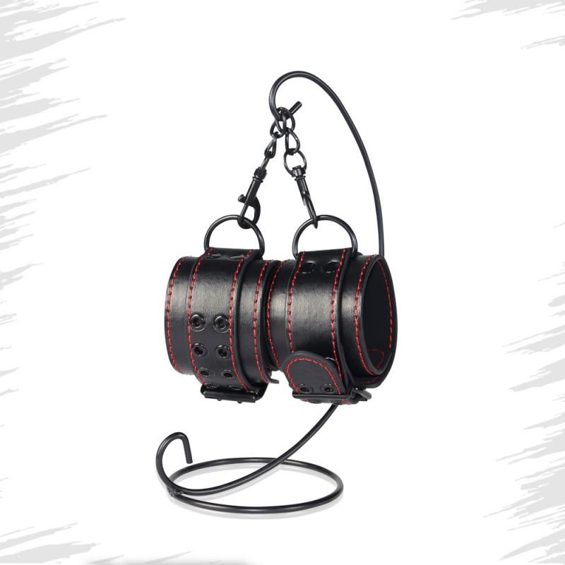 BDSM (БДСМ) - <? print Универсальные кожаные наручники из кожи; ?>